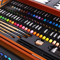 蒙玛特 水彩笔套装儿童绘画工具彩色套盒画画笔幼儿园初学者手绘礼盒小学生用美术文具用品
