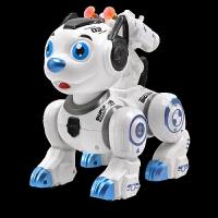 儿童仿真智能狗电动劝机器狗走路灯光音乐可发射软弹机械战兽男孩模型玩具礼物