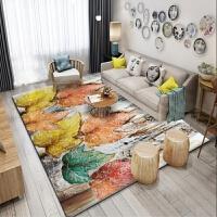 现代客厅茶几地毯卧室床边书房门厅地垫北欧地毯抽象简约几何中式