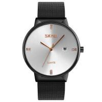 石英表男手表简约防水时尚指针日历商务腕表个性化潮流手表