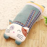 萌抱着睡觉抱枕公仔猫咪毛绒玩具娃娃女生大号可拆洗长条枕头可爱