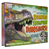 Activity Station Paint Your Own Roaring Stomping Dinosaurs