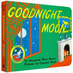 晚安月亮船60周年纪念版(卡板书) 英文原版 Goodnight Moon