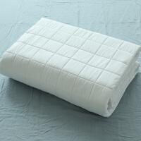 日式环保床垫可折叠 单双人棕垫席梦思榻榻米保护套1.5米1.8m 白色-床垫