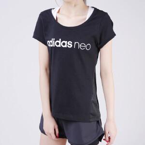 阿迪达斯NEO2018女短袖T恤CF6178