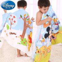 迪士尼Disney米奇与伙伴纱布浴巾 纯棉儿童浴巾 卡通 柔软吸水
