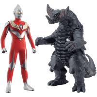 益智玩具BANDAI万代 奥特曼超决战软胶玩偶奥特怪兽男孩对战收藏模型玩具 男孩女孩