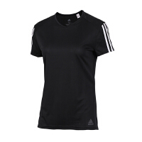 Adidas/阿迪达斯女装 2018新款女子RUN 3S TEE W运动休闲短袖T恤 CZ7569