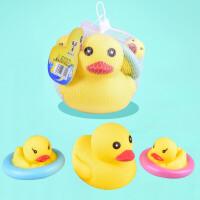 浮水洗澡鸭 夏季儿童游泳套装戏水浴室玩具小黄 ZZ8002
