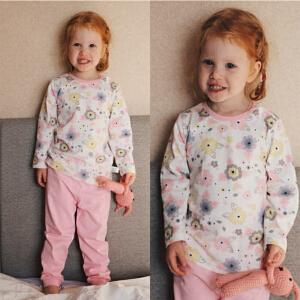 【专区49选5】歌歌宝贝宝宝秋衣套装婴儿纯棉套装长袖0-3岁 纯棉婴儿内衣秋套装