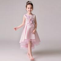 儿童礼服公主裙女孩蓬蓬纱公主裙花童钢琴演出服主持人晚礼服