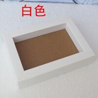 加厚相架 正方形6寸7寸8寸10寸立体相框标本框立体画框衍纸框