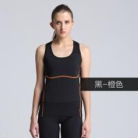夏季瑜伽服跑步背心健身服女跳操显瘦瑜珈背心吊带一体式背心
