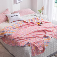 毛巾被纯棉单人加厚全棉六层纱布毛巾毯夏季午睡盖毯子婴儿空调被