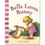Bella Loves Bunny 贝拉爱兔子 英文原版进口儿童绘本 亲子早教互动 0-3岁低幼英语启蒙图书