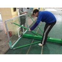 钢化玻璃篮板户外标准篮球架篮板家用壁挂式训练篮板篮筐