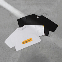 英文字母印花短袖日系简约上衣青年学生短袖T恤夏季潮