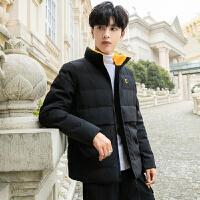 冬季男士新款棉衣工装韩版潮流羽绒棉服帅气学生休闲宽松棉袄外套