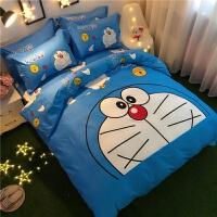 棉四件套卡通儿童可爱床上用品男孩被套4三件套1.8m