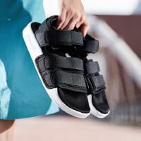 adidas阿迪达斯三叶草女子凉鞋2018新款忍者沙滩休闲运动鞋AC8583