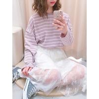 2018SS 必收~仙气十足 NC 蕾丝半身裙 中长裙 均码