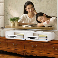 电脑增高架垫高架电视机架子机顶盒置物架隔板烤漆亮光电脑底座架