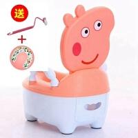 加大坐便器小猪佩奇儿童马桶座便器男女宝宝婴儿小马桶小孩便尿盆