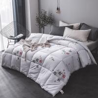 纯棉花被子冬被全棉棉花被新疆棉被加厚保暖被芯褥子垫被棉胎被褥 200*230cm 10斤