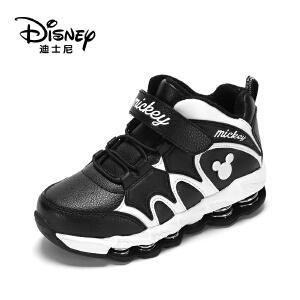 鞋柜/迪士尼冬款童鞋系带男童运动鞋冬靴1