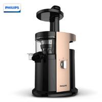 飞利浦(PHILIPS)原汁机 家用低速型可做果汁可榨汁可做纯果冰激凌慢汁机 HR1884/00