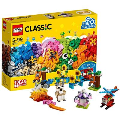 【当当自营】LEGO乐高齿轮创意拼砌盒 10712材质安全妈妈放心 小灵感大快乐 爱拼才会赢