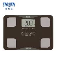 百利达(TANITA) 体脂仪 成人家用精准电子小型脂肪秤 体脂体重称 日本品牌 BC-718 棕色