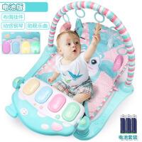早教益智玩具婴儿健身架0-1岁宝宝健身架脚踏钢琴3-6-12个月