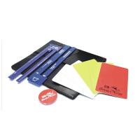 双鱼 乒乓球裁判用具套装 专业比赛裁判工具包 裁判尺牌挑边器 401