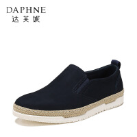 达芙妮集团/鞋柜春秋时尚休闲系带商务男鞋皮鞋1117414302