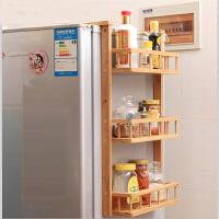 东木 冰箱侧挂架 厨房调味调料品架 冰箱侧壁收纳架 卫浴储物架 收纳架