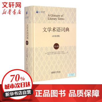 文学术语词典(0版) 北京大学出版社 【文轩正版图书】