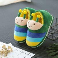 儿童宝宝棉拖鞋1-3岁幼儿小童家居鞋秋冬季室内卡通可爱防滑棉鞋