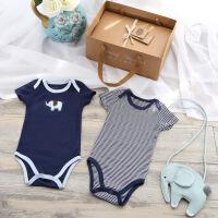 婴儿礼盒套装夏季新生儿礼盒*初生男宝宝纯棉衣服百天满月礼物 象宝贝的夏天