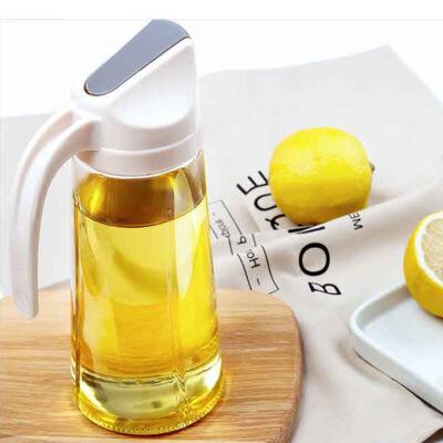 泰蜜熊日式油壶装酱油醋油瓶玻璃防漏家用厨房油罐透明厨房用品 支持积分抵现
