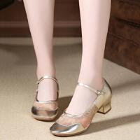 爵士舞鞋高帮低帮儿童女芭蕾舞舞蹈鞋软底练功鞋现代舞鞋