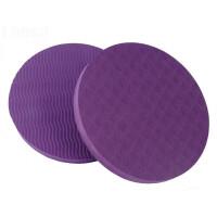 小号瑜伽垫 小号圆形瑜伽垫平板支撑垫便携家用运动平衡垫小块护肘瑜珈垫HW 15mm(初学者)