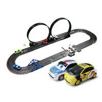 男孩玩具汽车遥控轨道赛车儿童电动双人轨道玩具