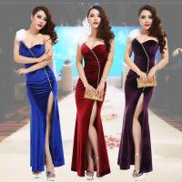 夜店女装裙子性感晚礼服新款冬季长款长裙宴会修身气质礼服裙