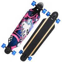 公路滑板 四轮滑板dancing跳舞刷街代步速降板户外运动