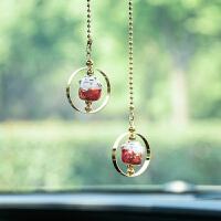 猫车载挂件饰品车挂件韩国个性创意ins挂车上的饰品女士