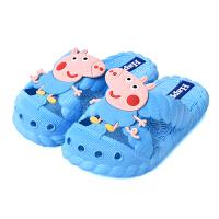 儿童拖鞋夏男女童浴室洗澡防滑小孩宝宝凉拖鞋软底室内卡通可爱