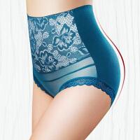 4条高腰内裤女收腹纯棉裆产后塑身紧身收腰收复中老年妇女