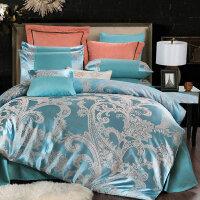 欧式丝棉纺四件套被套床单床上用品4件套件床品