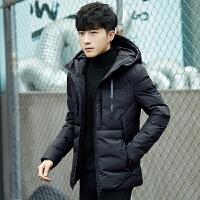 男士棉袄冬季新款加绒加厚个性潮韩版帅气羽绒棉衣外套男